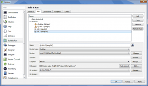 Qt 4.8.7 - Adding Qt 4.8.7 kit to QtCreator 2.8.0